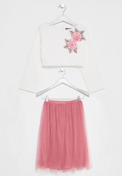 Tween Tulle Skirt Set