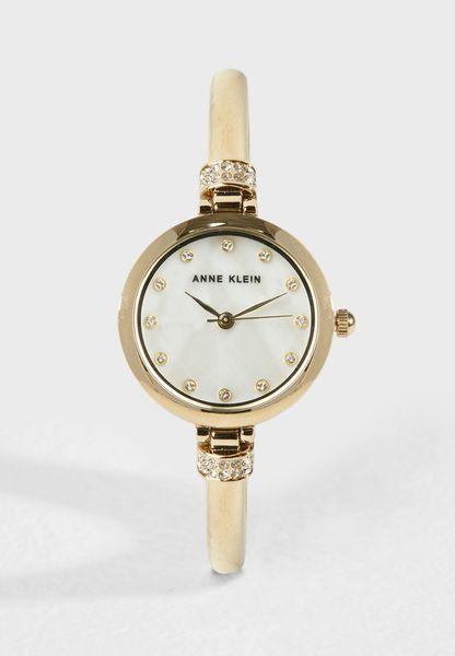 Analog Watch & Bracelet Set