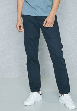 Twill Slim Fit Trousers