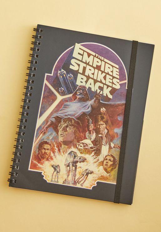 A5 Star Wars Empire Notebook