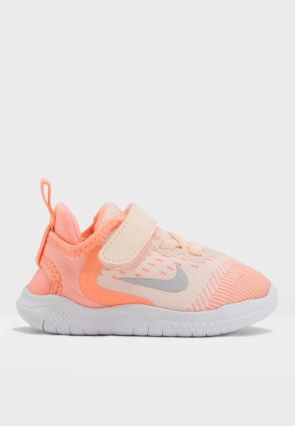 Shop Nike multicolor Free RN 2018 Infant AH3456-800 for Kids in Saudi -  NI727SH42KAB