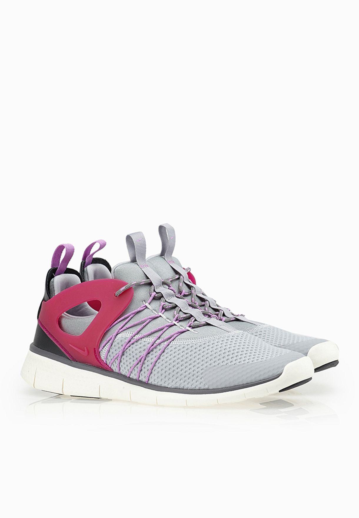 82459dce44ca Shop Nike grey Free Viritous Sneakers 725060-002 for Women in Saudi ...