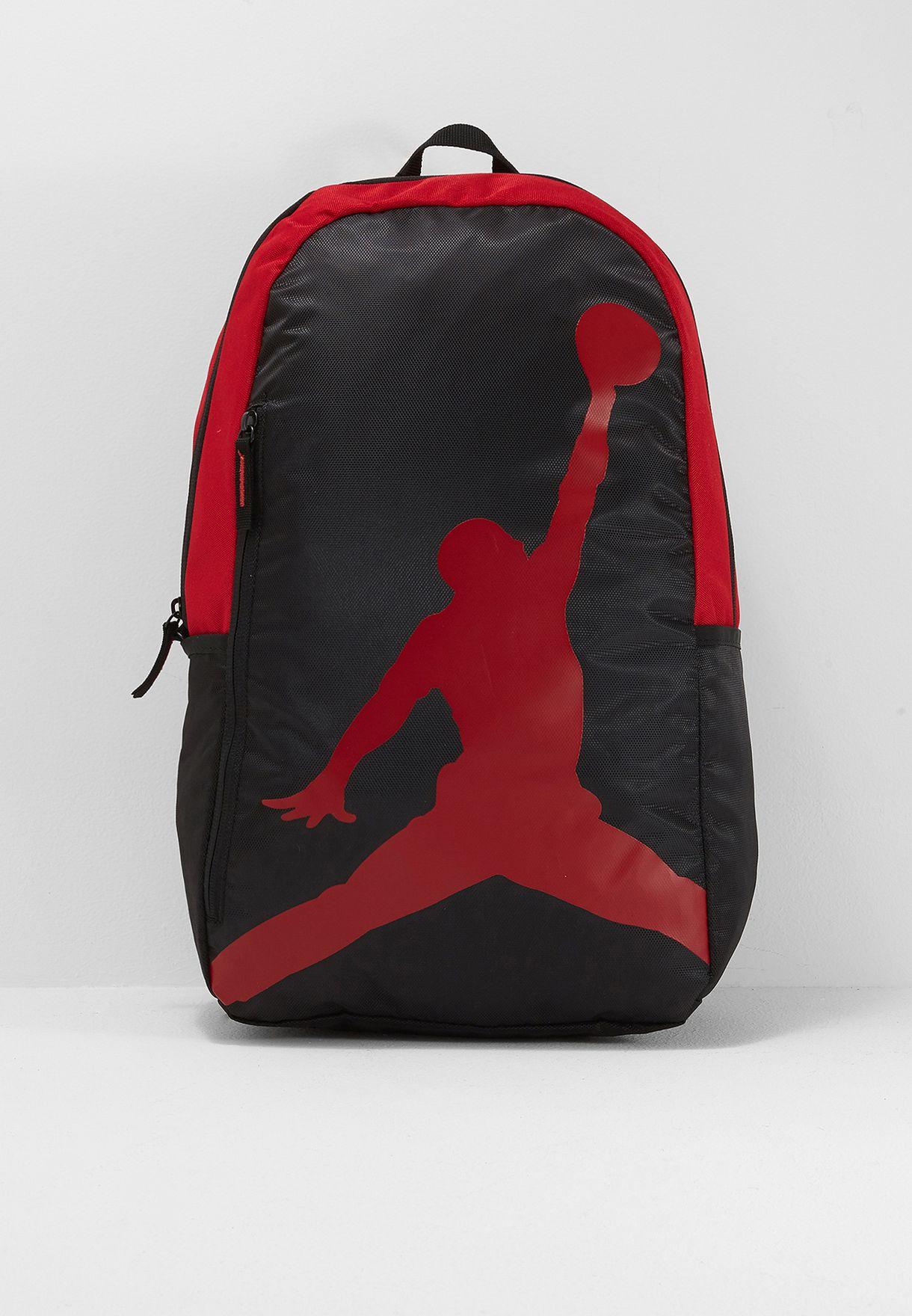 Shop Nike red Jordan Jumpman Backpack 9A1911-KR5 for Kids in UAE ... 5744da59f83a4