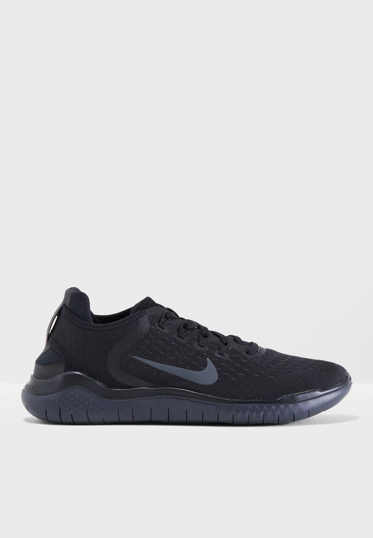 65761b20aac0b Shop Nike black Free RN 2018 942836-002 for Men in Saudi - NI727SH42CNT