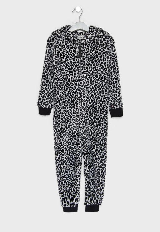 Little Leopard Onesie