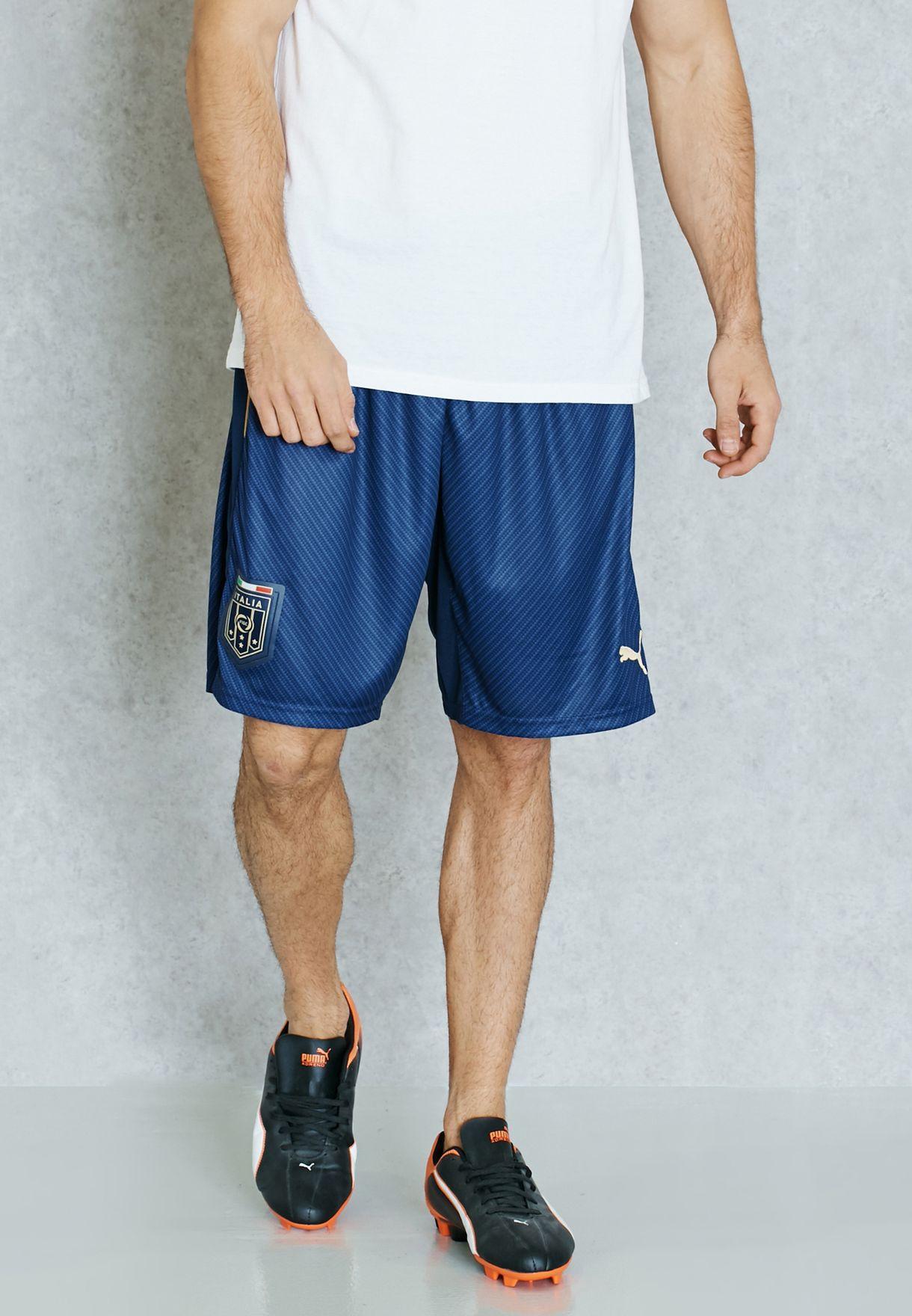 Shop PUMA navy FIGC Italia Tribute Away Replica Shorts 74957703 for Men in  Bahrain - PU020AT42IIF 9860a475c7fd6