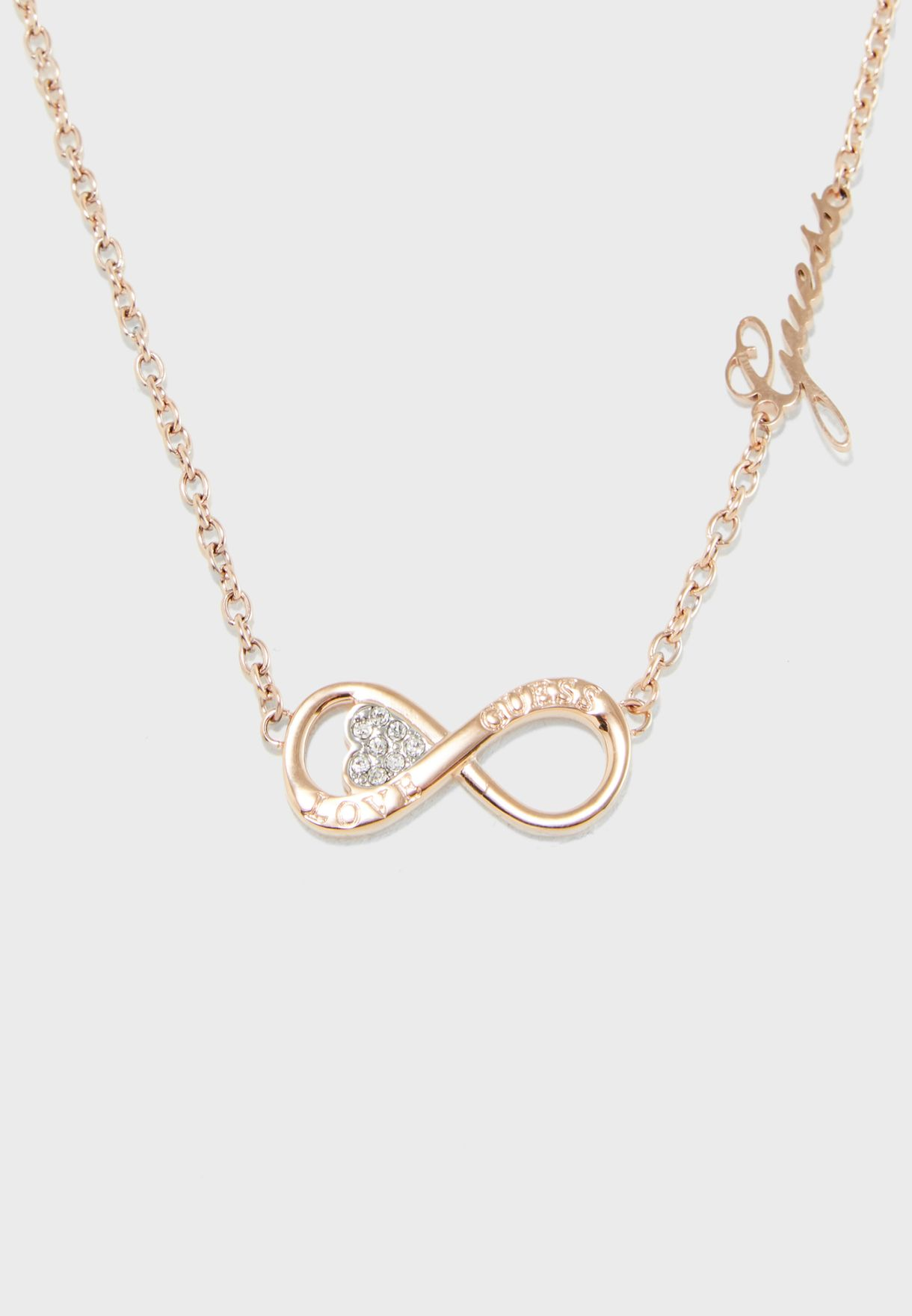 Horiz Infinity Necklace