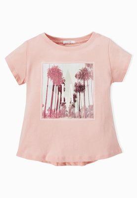MANGO Kids Epetcity Print T-Shirt