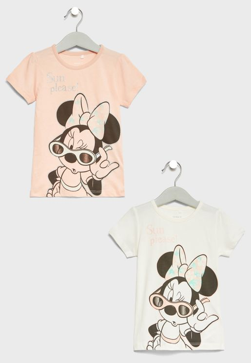 Infant 2 Pack Minnie T-Shirts