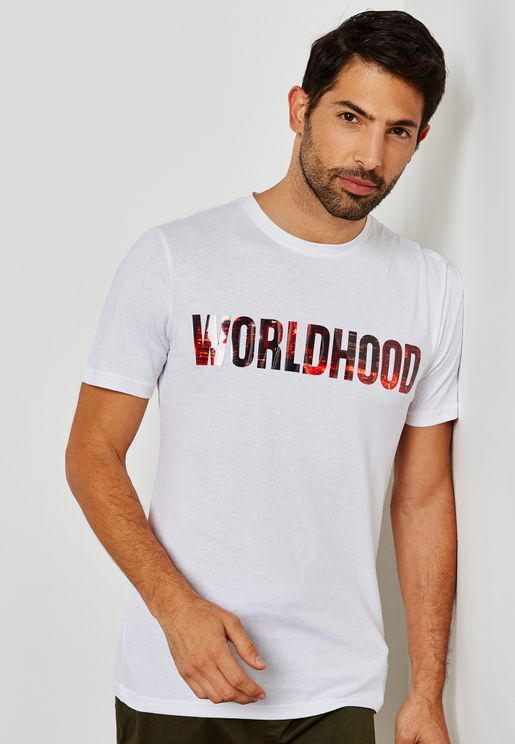 Worldhood Crew Neck T-Shirt