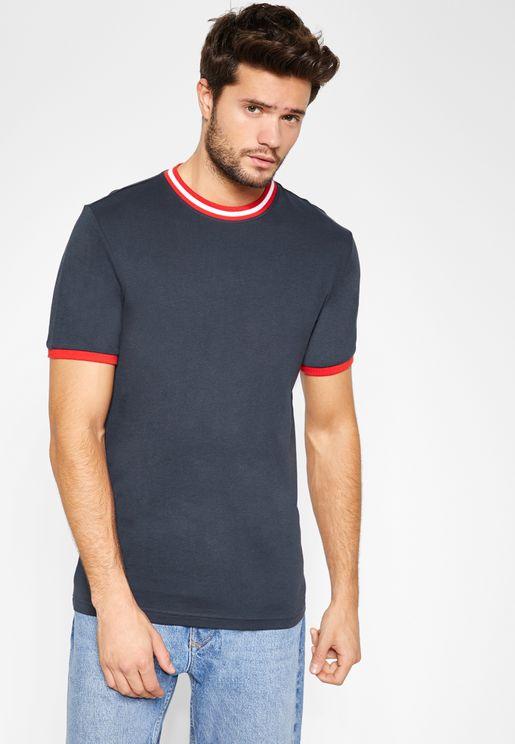Carl Ringer Crew Neck T-Shirt