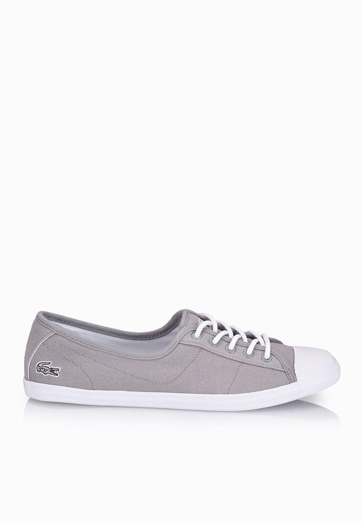 45218024ffe7 Shop Lacoste grey Ziane EDG Sneakers 30SPW0026-12C for Women in UAE ...
