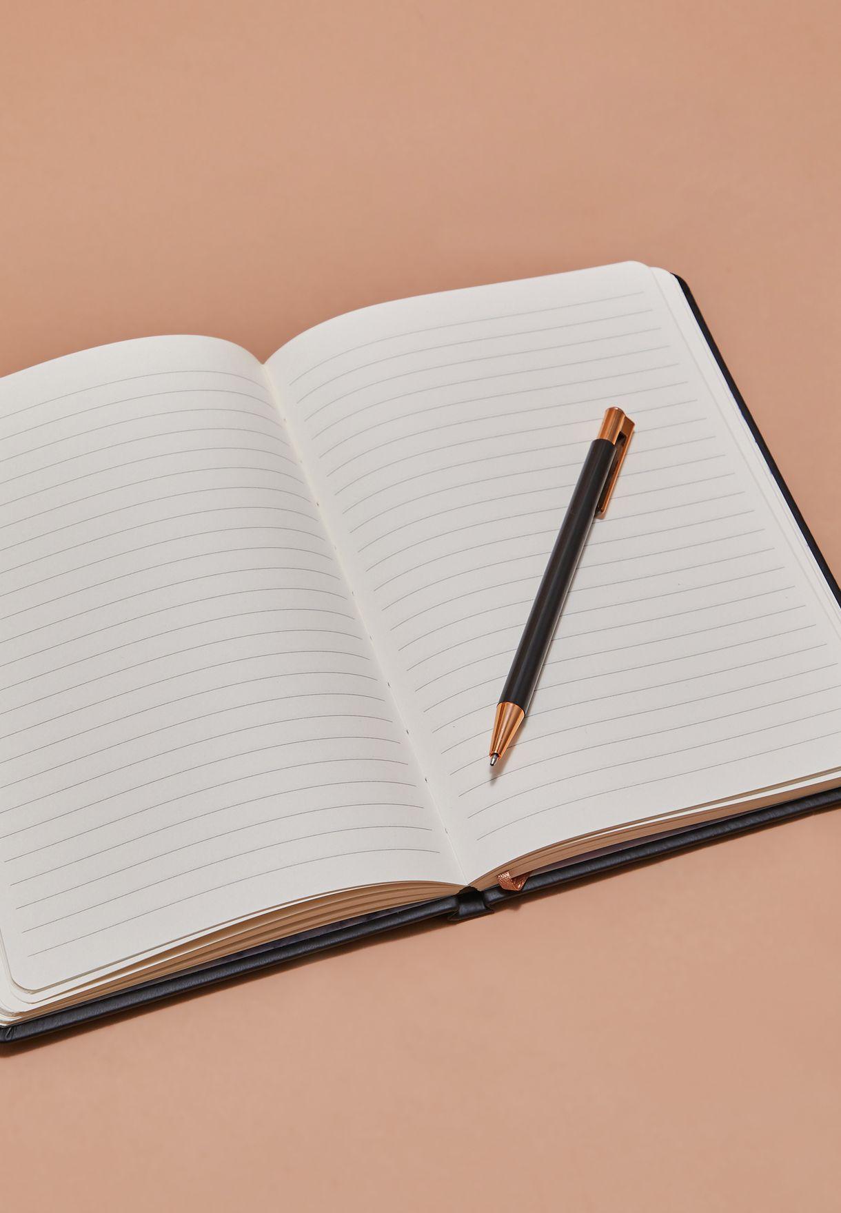 مجموعة دفتر ملاحظات برج القوس مع قلم
