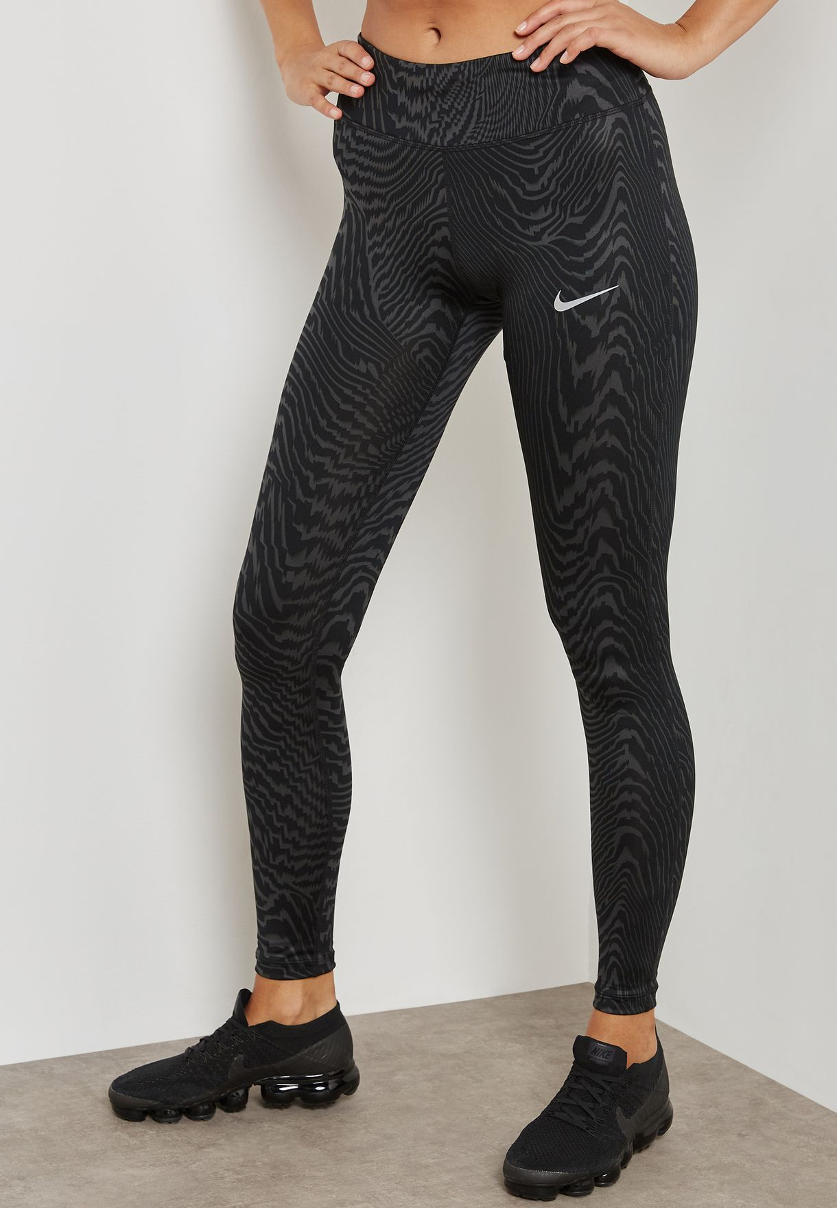743f79feff0cf8 Shop Nike prints Power Essential Leggings 902257-060 for Women in ...