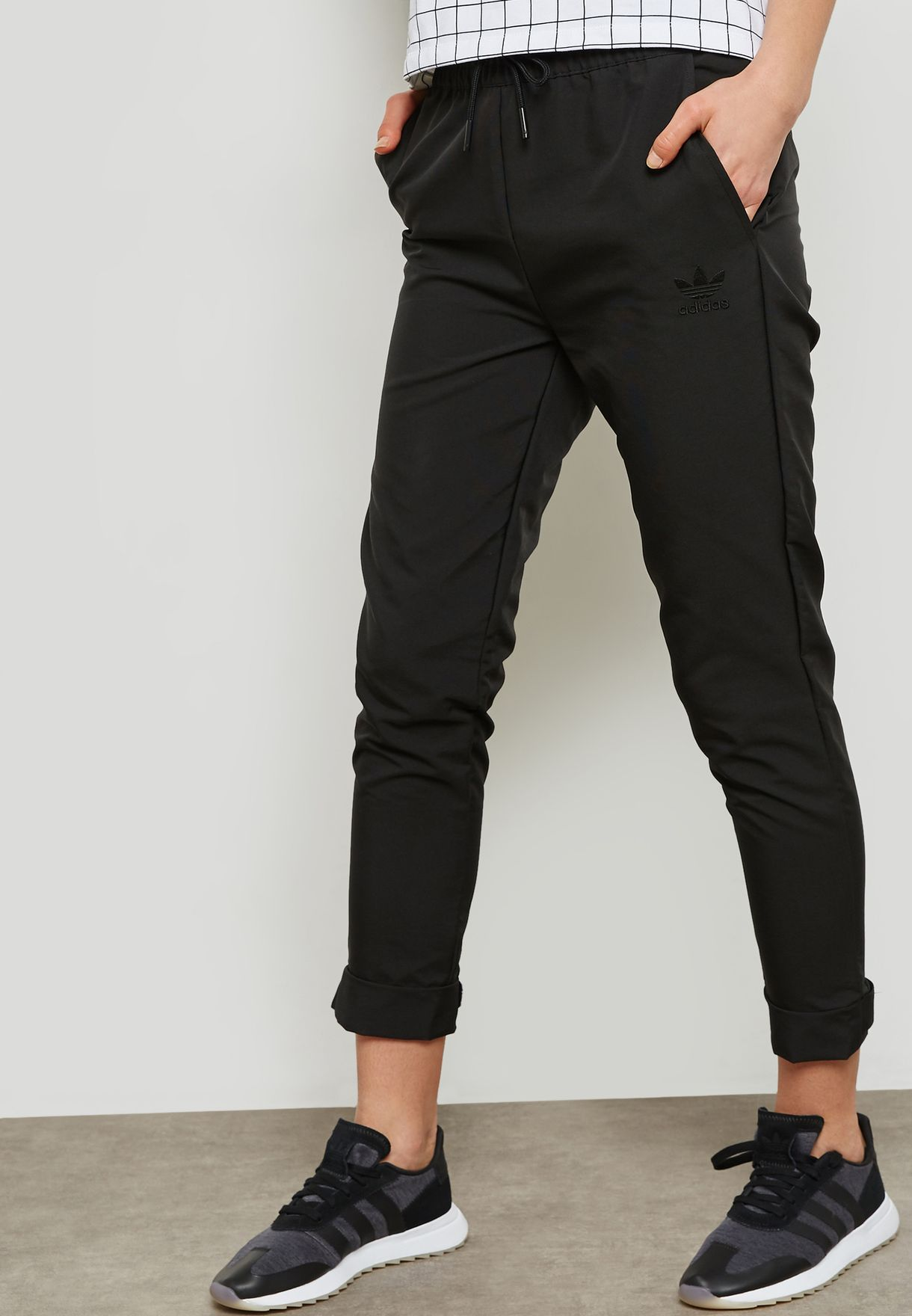 0cc412044bf Shop adidas Originals black Colorado Sweatpants CV5799 for Women in ...