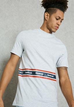 Printed Tape T-Shirt