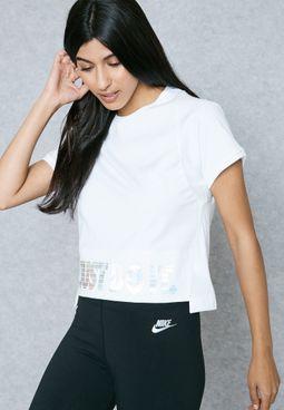 Hologram Crop T-Shirt