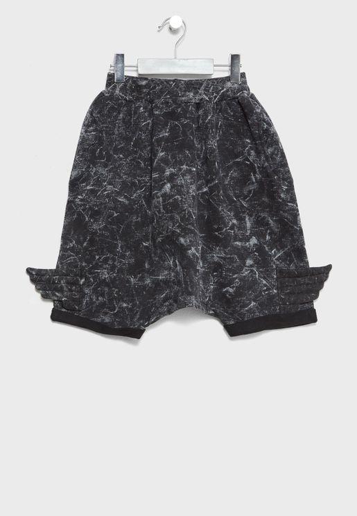 Little Tie Dye Shorts