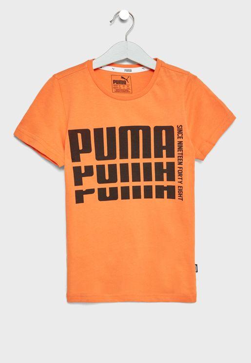 Kids Rebel Bold Basic T-Shirt