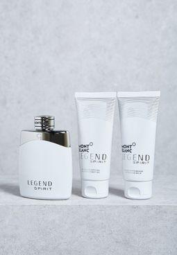 Legend Spirit 100ml EDT + Balm + Shower Gel Set