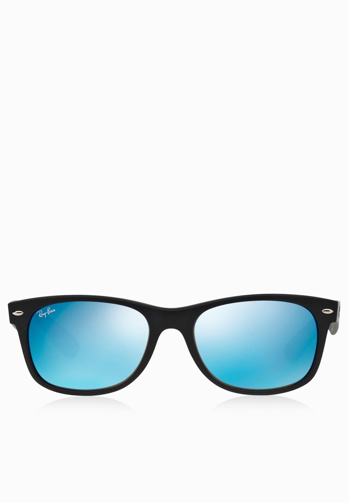 0RB2132 Wayfarer Flash Sunglasses