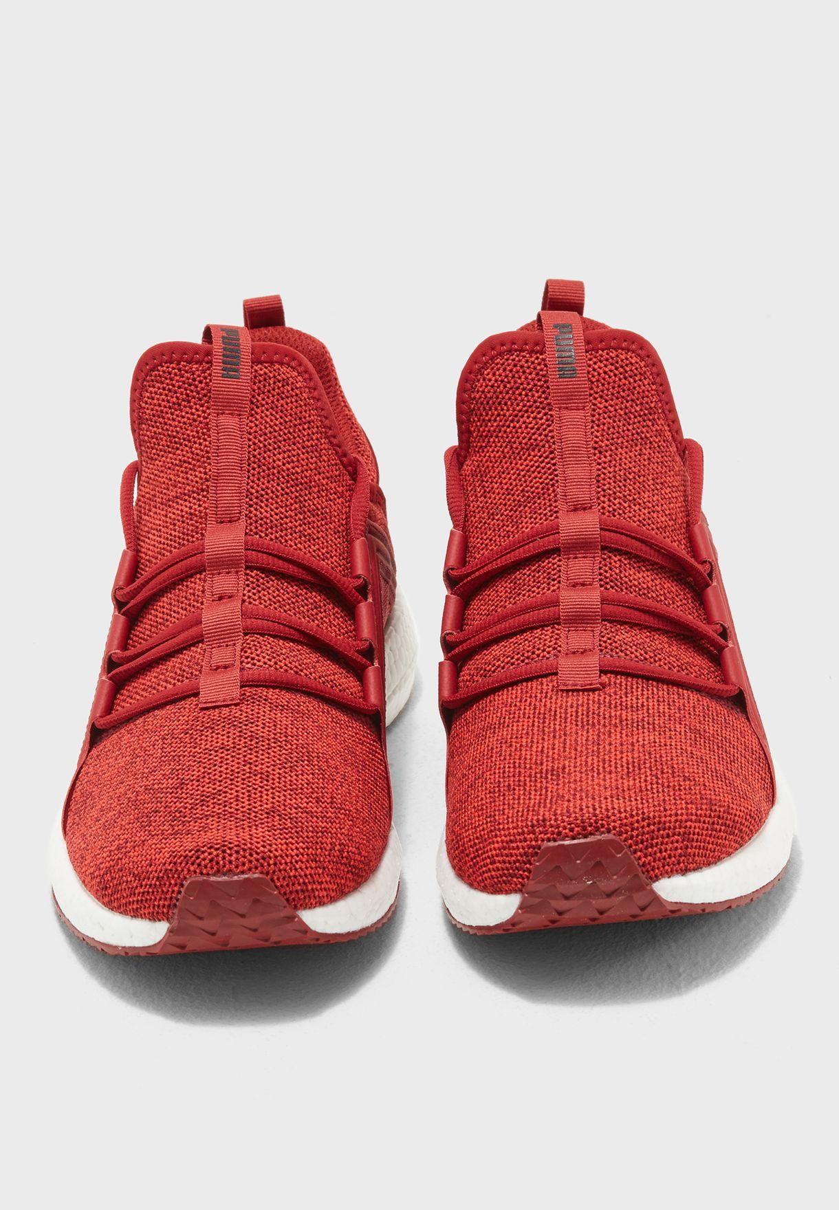 c6f18715ac5 Shop PUMA red Mega NRGY Knit 19037104 for Men in Qatar ...