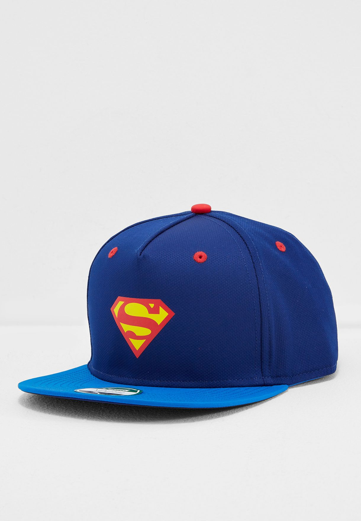 f7c482ab79b Shop PUMA navy Justice League Flatbrim Cap 02128702 for Men in UAE ...