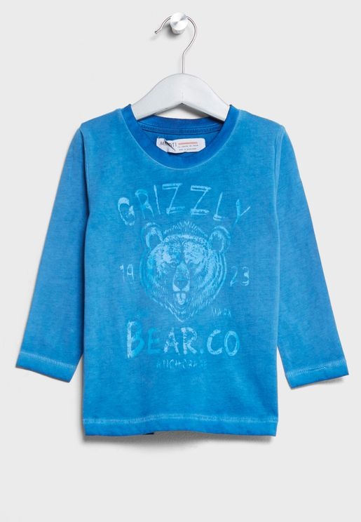 Infant Grizzly Bear T-Shirts