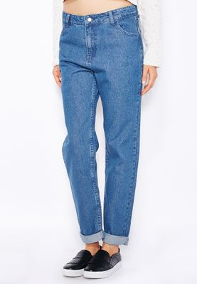 Native Youth Mom Jeans