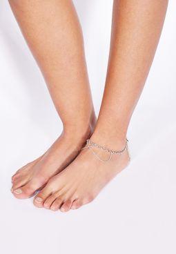 Pieces Nafia Ankle Chain