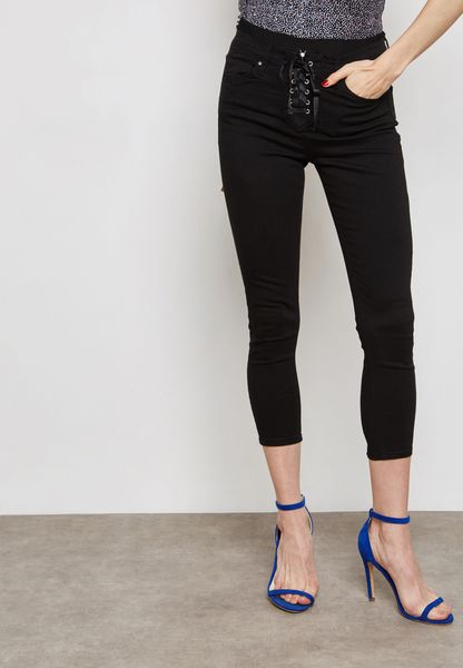 Lace Up Jamie Jeans