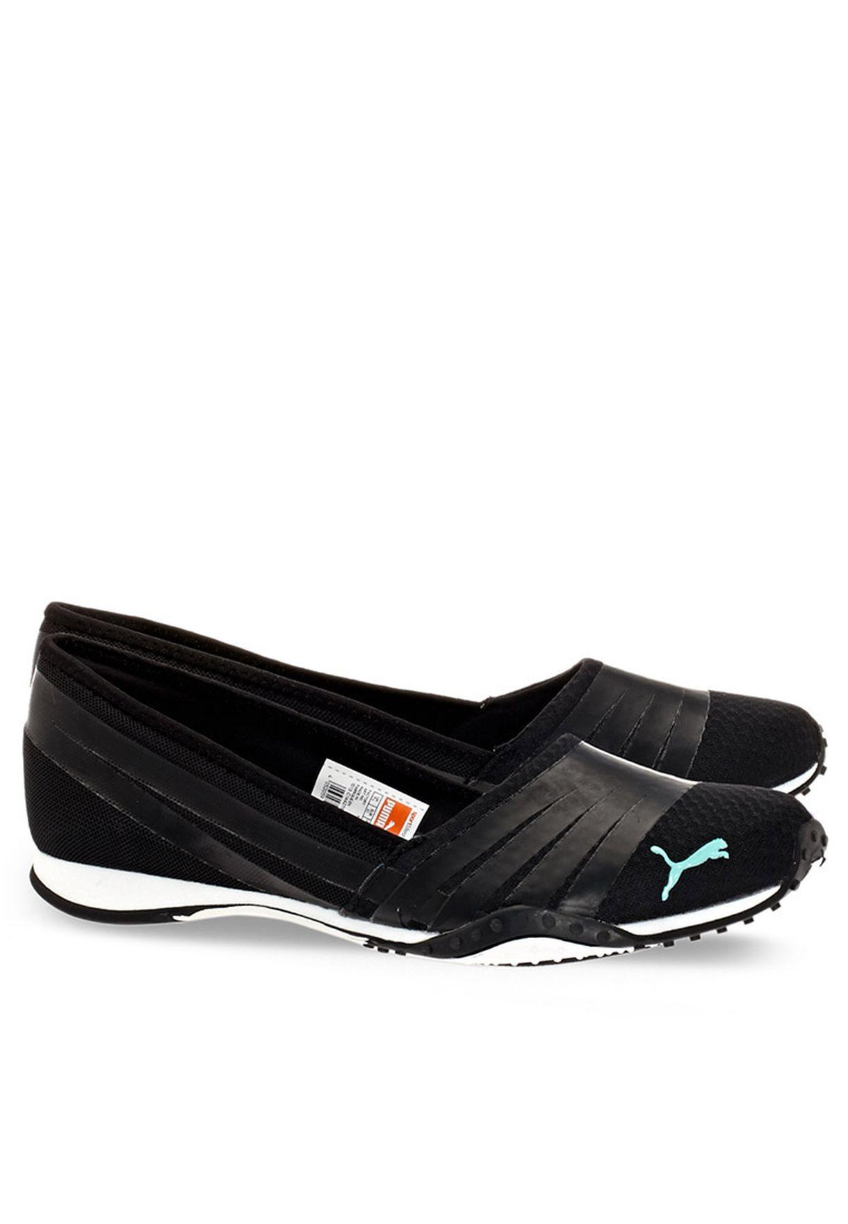 277ddbc5cef69c Shop PUMA black Asha Alt 2 Ballerinas 18705503 for Women in UAE ...