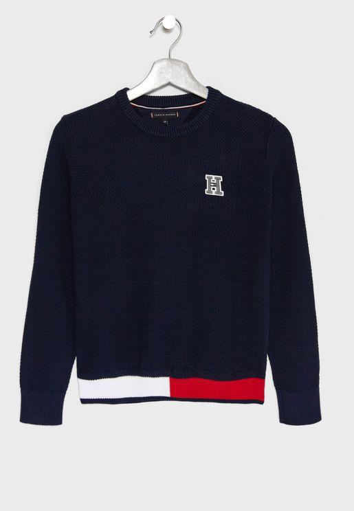 Teen Logo Sweater