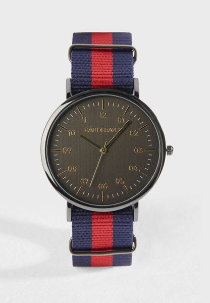 Webbing Strap Casual Watch