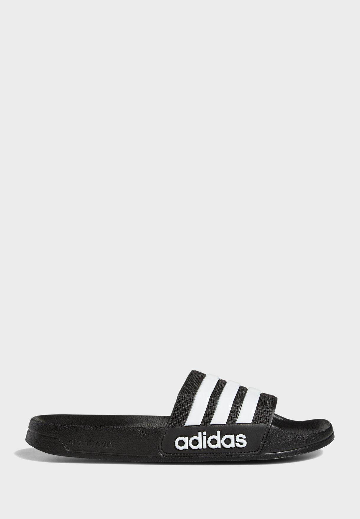 dbde4bc95 Shop adidas black CF Adilette Slides AQ1701 for Men in UAE ...