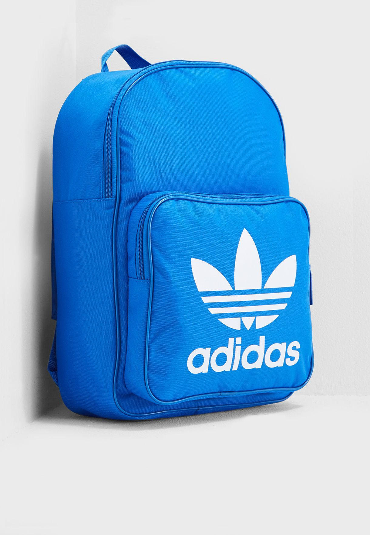 Shop adidas Originals blue Trefoil Classic Backpack DJ2172 for Men ... 63dfa7c964298
