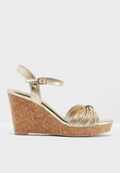 Rita Wedge Sandals