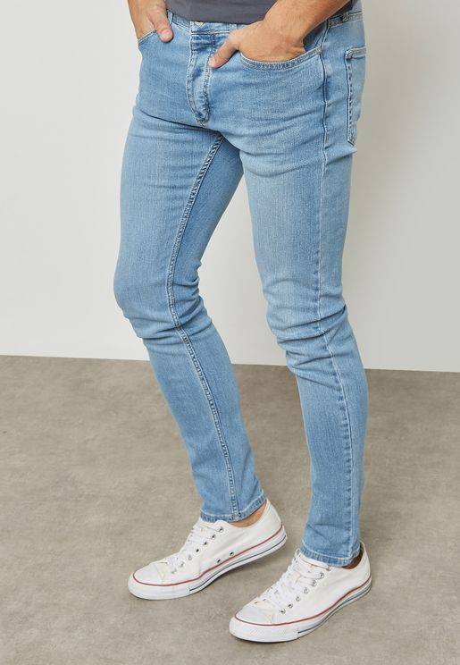 Stretched Slim Fit Jeans
