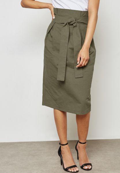 Self Tie Skirt