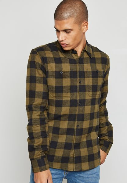 D Woodbine Checked Shirt