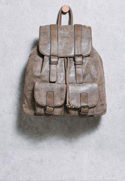 شنطة ظهر من جلد PU