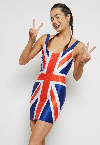 Union Jack Mini Dress