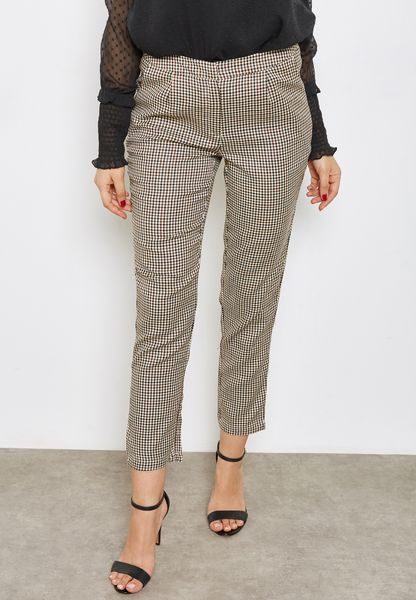 Heritage Checked Pants