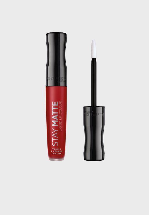Stay Matte Liquid Lip Colour- 500 Fire Starter