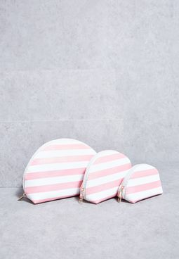 3 Pack Cosmetic Bags
