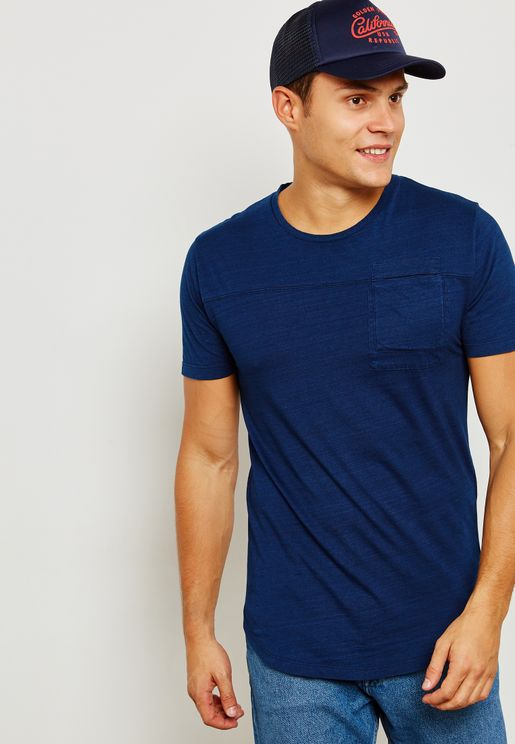 Fallon Pocket Crew Neck T-Shirt