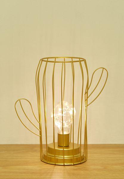 Cactus Wire Lamp