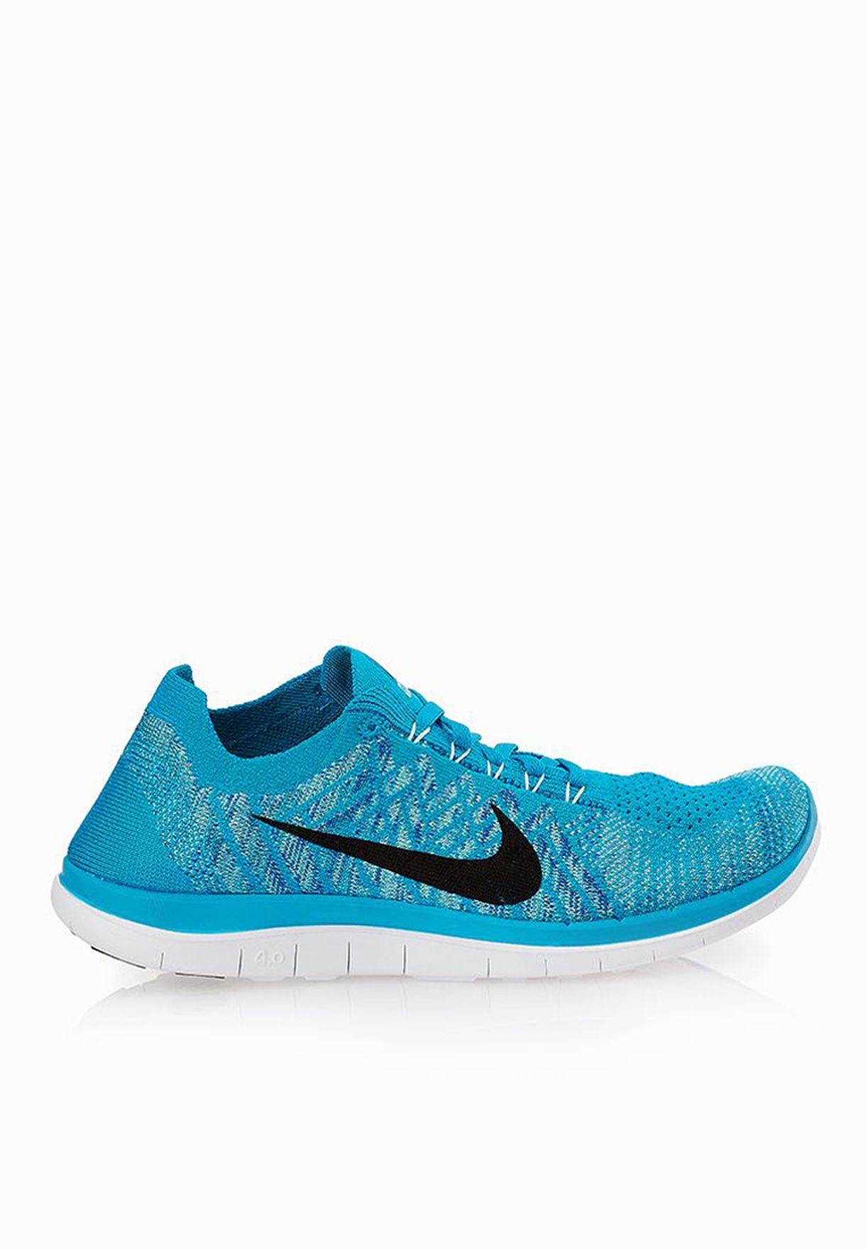 1ad5a0e6ecc30 Shop Nike blue Free 4.0 Flyknit 717076-400 for Women in UAE ...