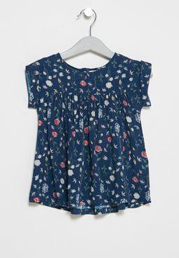فستان بيبي بطبعات