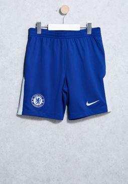 Youth Chelsea 17/18 Breathe Stadium Shorts